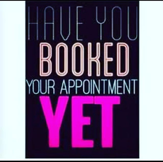 Have You Booked Your Appointment Yet?