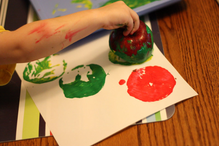 Fall Activities: Stamping with Nature