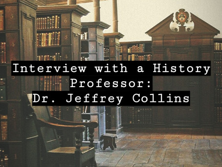 Interview With A Professor: Dr. Jeffrey Collins