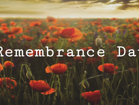 Today is Remembrance Day