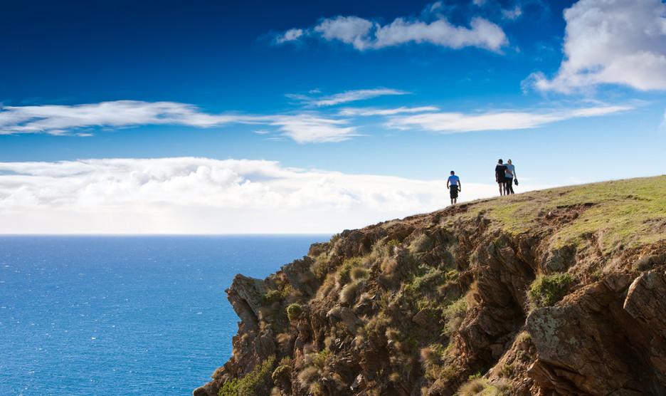 Walking De Mole Coastline