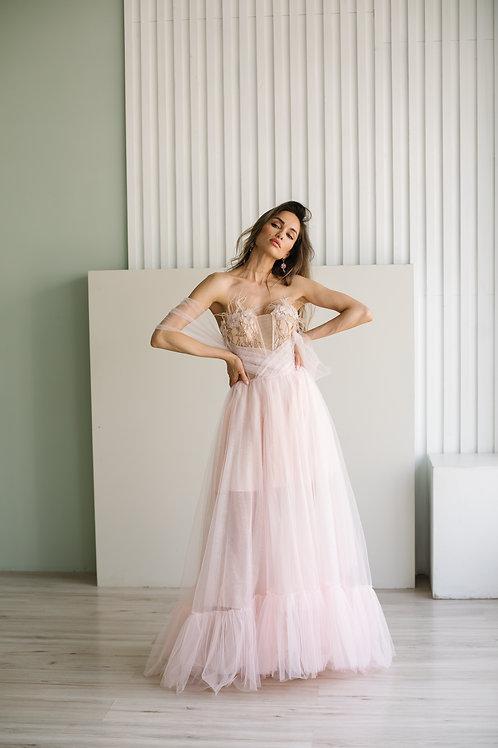 Воздушное нежное платье Rose