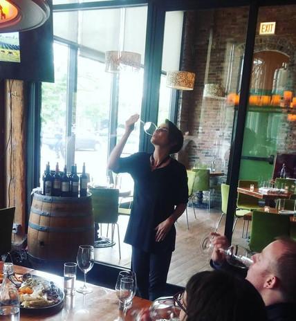 Chicago Israeli wine tasting