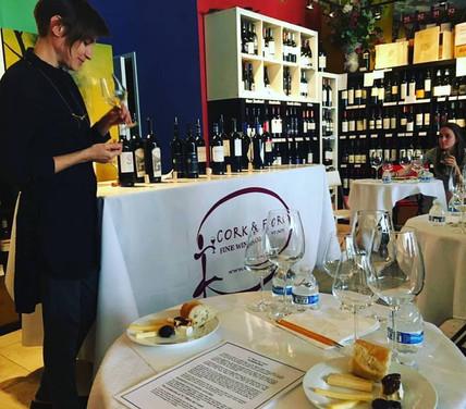 Washington Israeli wine tasting