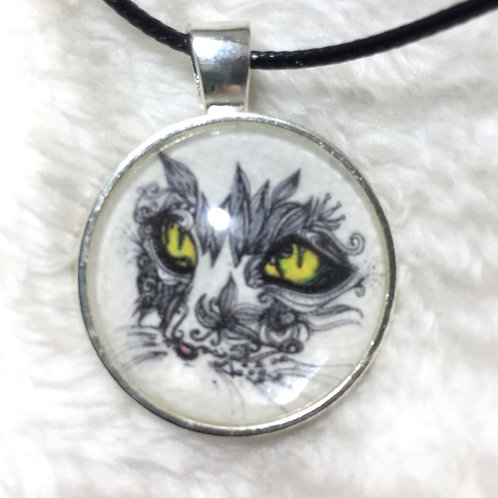 Intense Cat Necklace