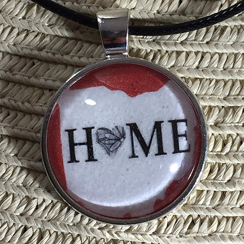Ohio is Home Necklace