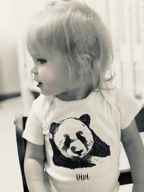 Personalized Sweet Panda Onesie®