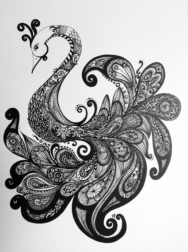 Fanciful Peacock