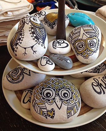 Unique Hand Painted Rocks!