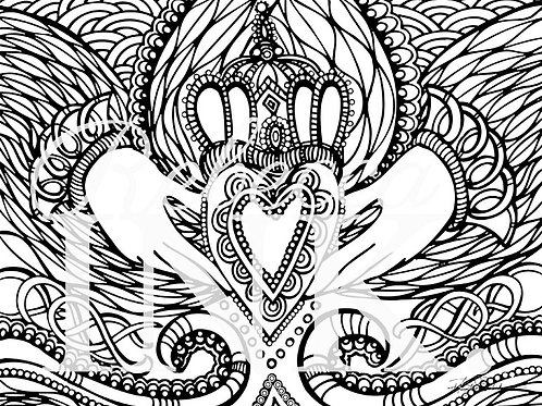 Irish You A Good Day Coloring Page Set