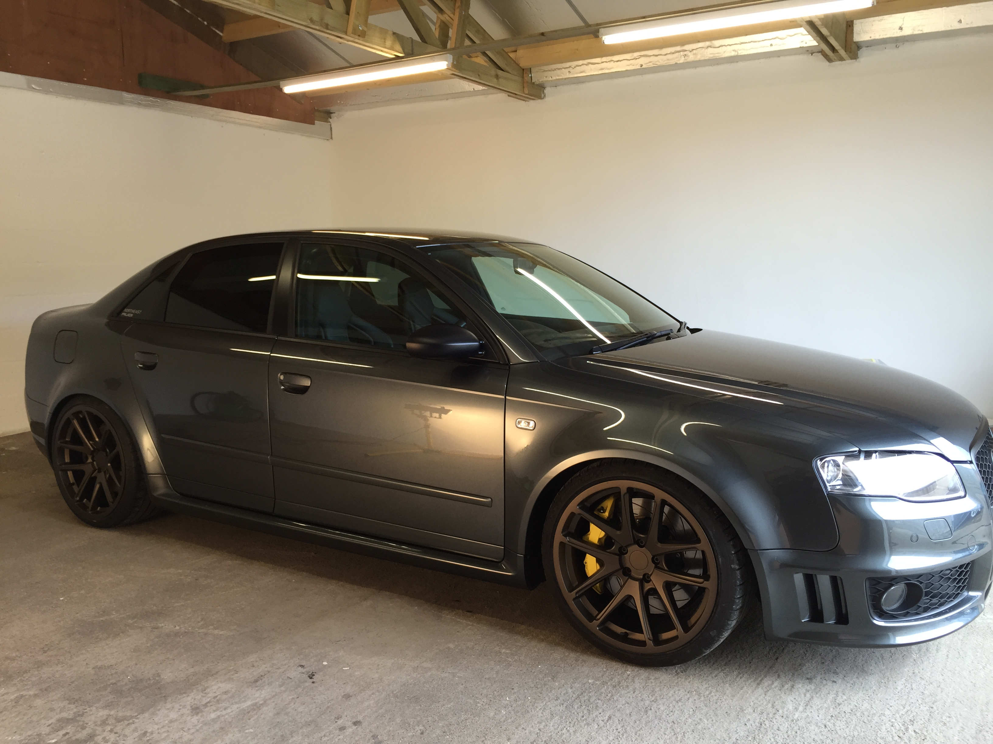 SUPERCHARGED RS4
