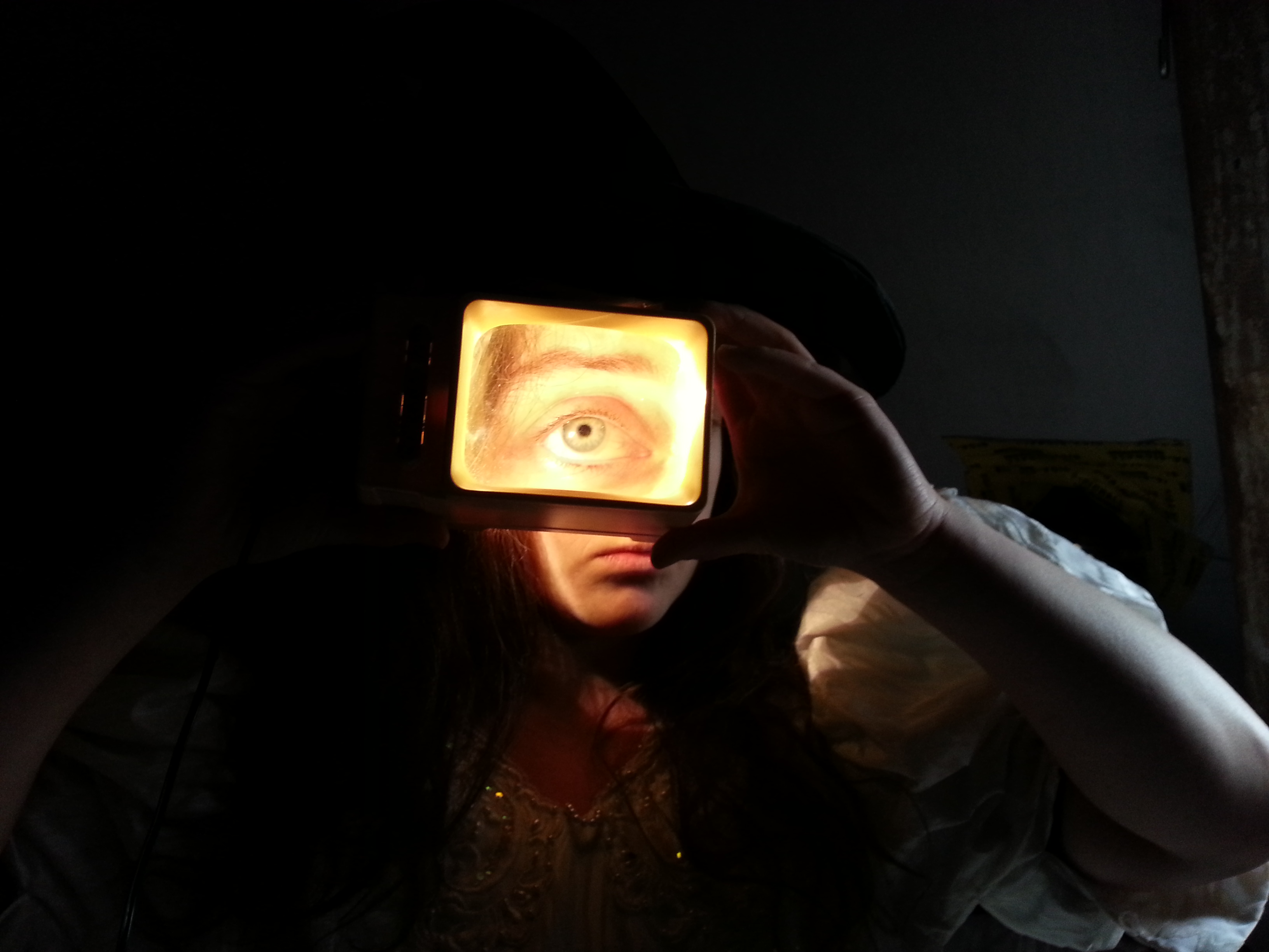 experiment with lookingglass