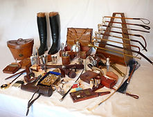 Stock pin, hunting pin, hunting boots, whip rack, sandwich box, hunting hat