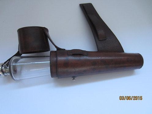 318  Vintage hunting flask