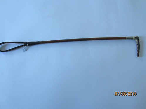698  Small child`s hunting whip with antler handle