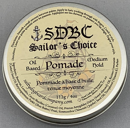 Oil Base Hair Pomade, 118g / 4oz