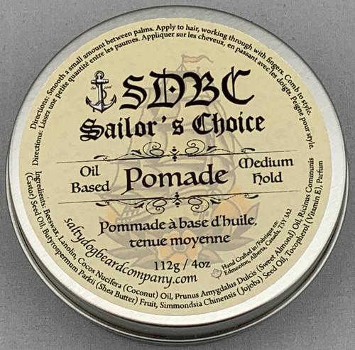 Oil Base Hair Pomade, 118g / 4oz
