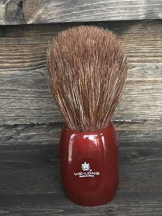 Shave Brush, Vie-Long - Red Handle