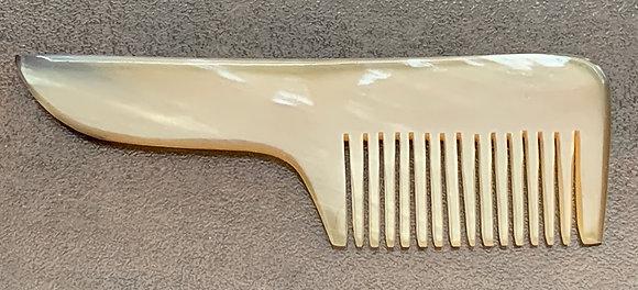Moustache Comb, Horn