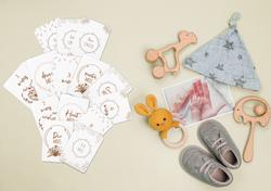 Cartes étapes bébé