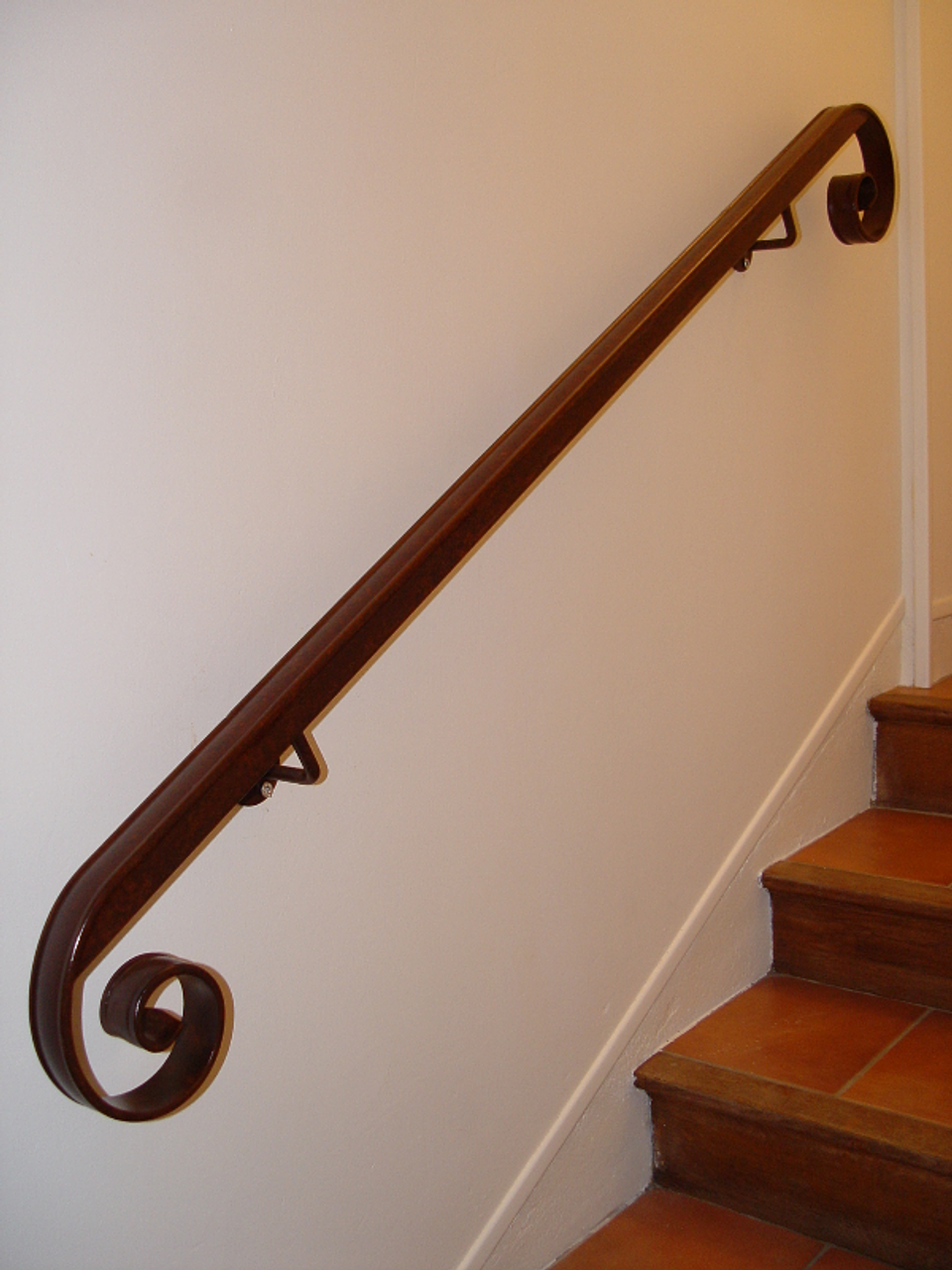 main courante pour escalier. Black Bedroom Furniture Sets. Home Design Ideas