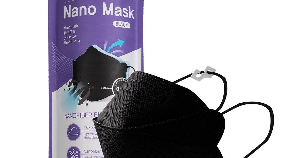Air Queen BLACK™ Nanofiber Mask