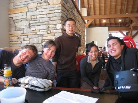 Ski trip January 2009 High Altitude Physiology!