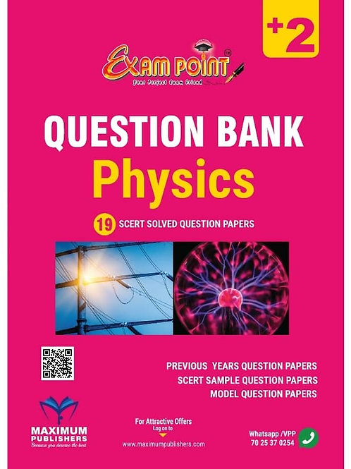 PLUS TWO PHYSICS QUESTION BANK (KERALA SYLLABUS)