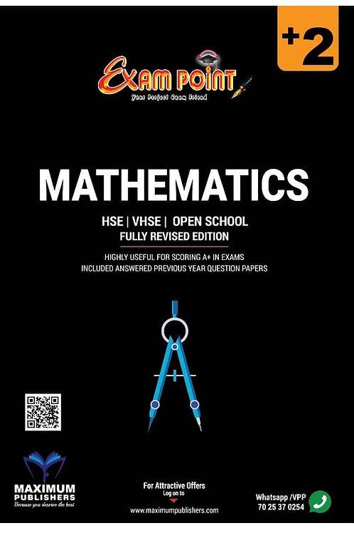 Plus Two Mathematics Kerala Syllabus ( HSE , VHSE ,OPEN SCHOOL )