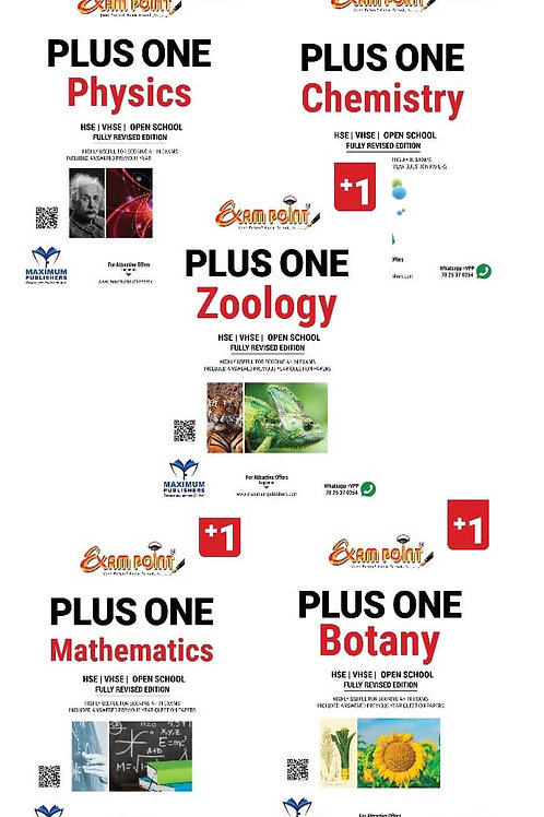 PLUS  ONE BIOSCIENCE (Physics, Chemistry, Mathematics, Biology )