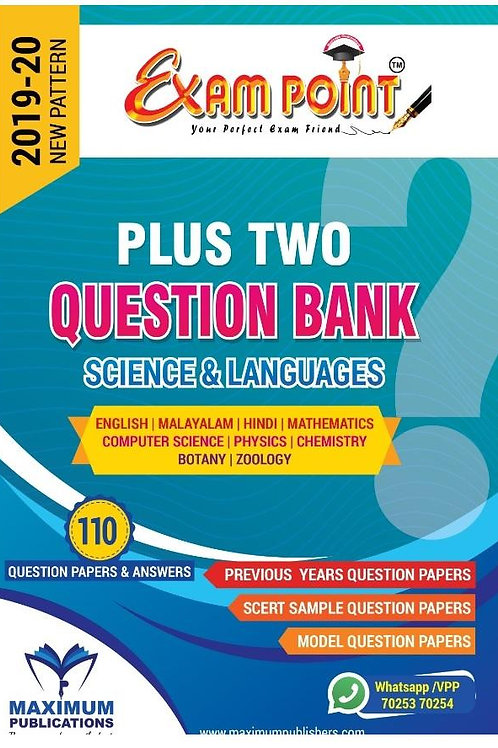 PLUS TWO SCIENCE QUESTION BANK (Subjects & Languages)