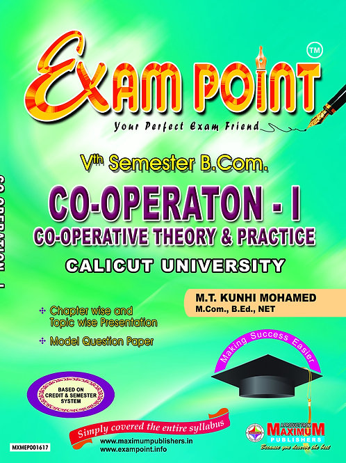 5TH CO-OPERATION-1  (B.Com Calicut University )