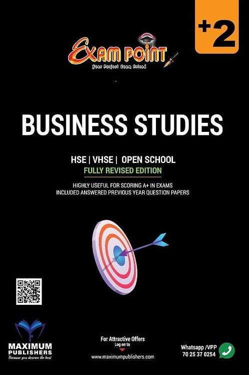 Plus Two Business Studies Kerala Syllabus ( HSE , VHSE ,OPEN SCHOOL )