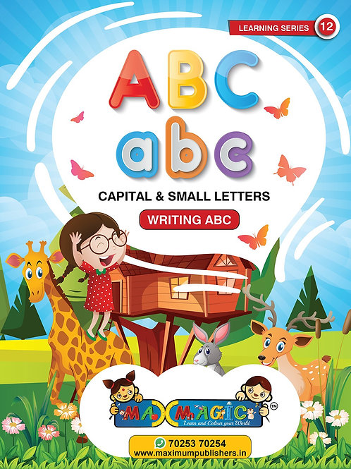 A to Z English Capital And Small Letters  (Pack of 2)