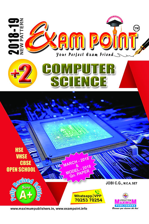 Plus Two Computer Science Kerala Syllabus ( HSE , VHSE ,OPEN SCHOOL )