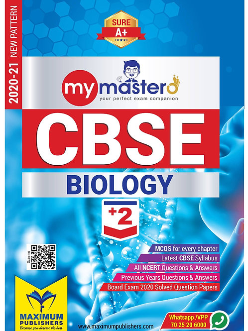 CBSE PLUS TWO BIOLOGY