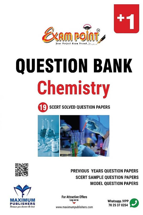 PLUS ONE CHEMISTRY QUESTION BANK (KERALA SYLLABUS)
