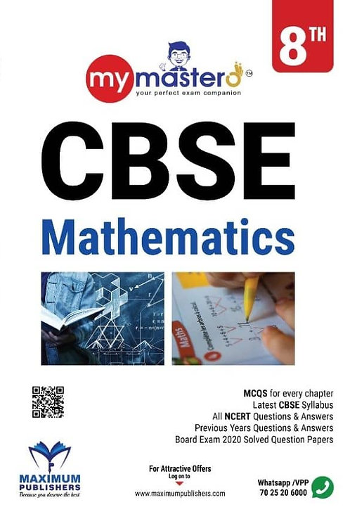 CBSE CLASS 8 / 8TH MATHEMATICS