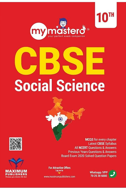 CBSE CLASS 10 SOCIAL  SCIENCE