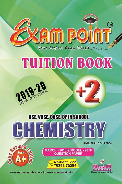 Plus Two Chemistry Tuition Book kerala Syllabus ( HSE , VHSE ,OPEN SCHOOL )
