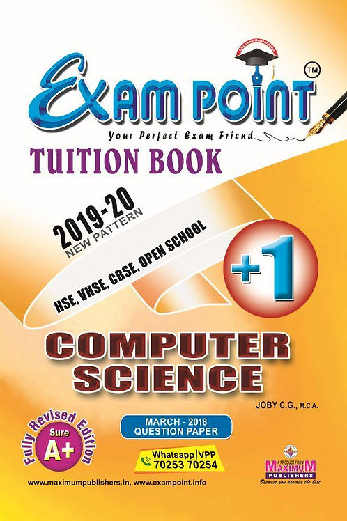 Plus One Computer Science (English) Tuition Book Kerala Syllabus