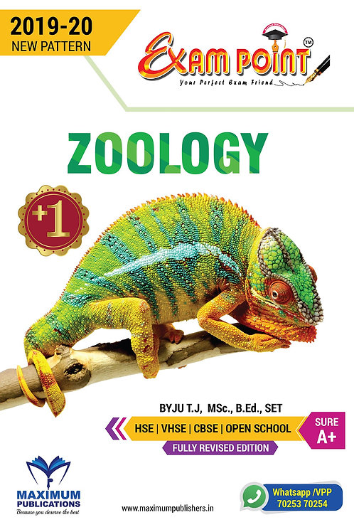 Plus One Zoology Kerala Syllabus ( HSE , VHSE ,OPEN SCHOOL )