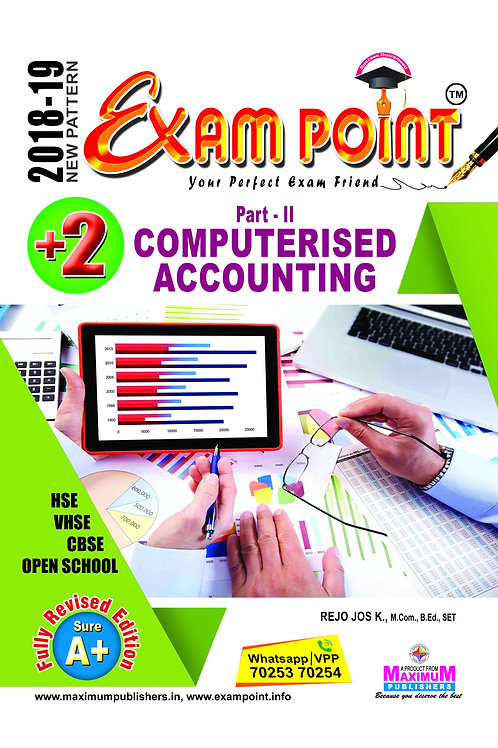 Plus Two Computerised Accounting Kerala Syllabus ( HSE , VHSE ,OPEN SCHOOL )