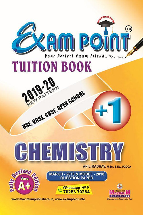 Plus One Chemistry Tuition Book Kerala Syllabus ( HSE , VHSE ,OPEN SCHOOL )