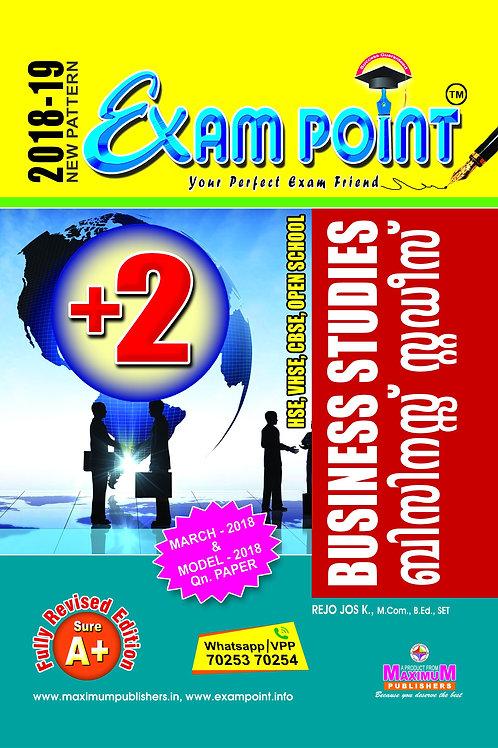 Plus Two Business Studies (English & Malayalam) Kerala Syllabus
