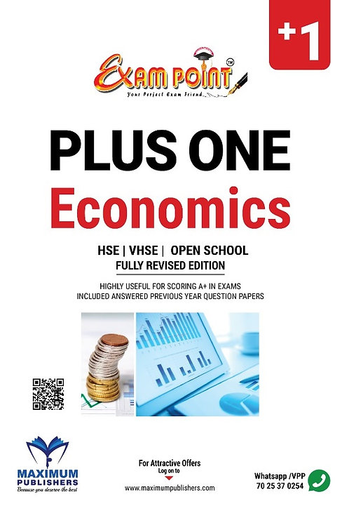 Plus One Economics Kerala Syllabus ( HSE , VHSE ,OPEN SCHOOL )