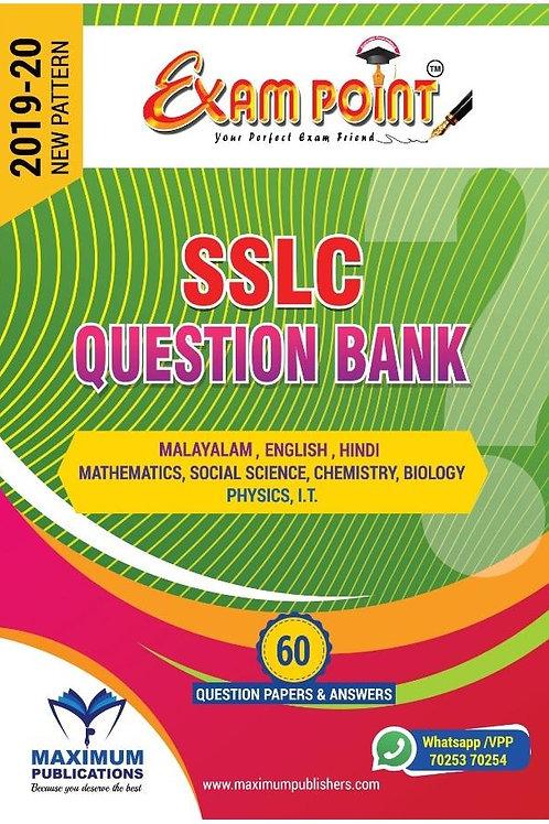SSLC QUESTION BANK (English) For Kerala Syllabus 2019-2020