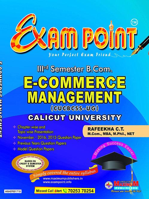 3rd Sem E-COMMERCE MANAGEMENT (B.Com Calicut University)