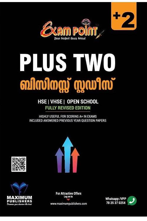 Plus Two Business Studies (Malayalam) Kerala Syllabus