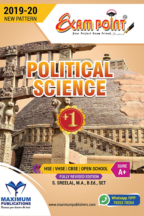 Plus One Political Science Kerala Syllabus ( HSE , VHSE ,OPEN SCHOOL )